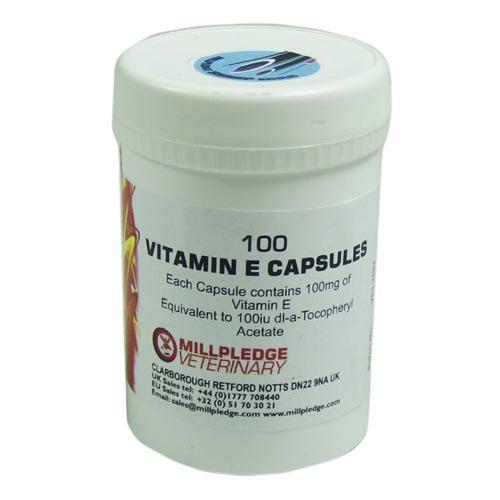 Vitamin E Capsules 100mg MP