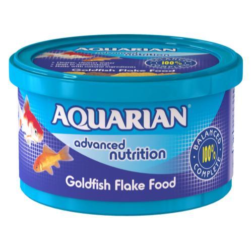 Aquarian Goldfish Flakes Fish Food