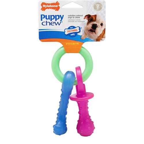 Nylabone Puppy Pacifier Chew Toy
