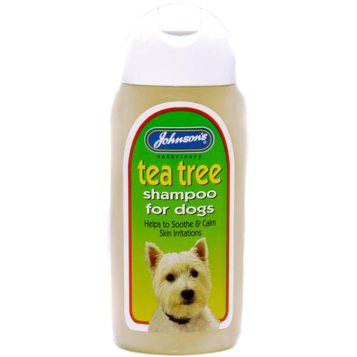Johnsons Tea Tree Dog Shampoo