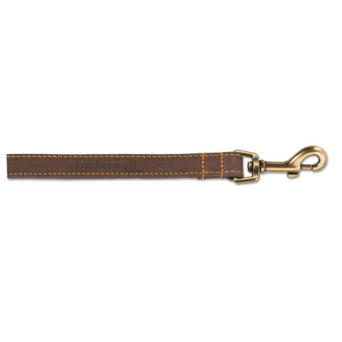 Ancol Timberwolf Leather Dog Lead