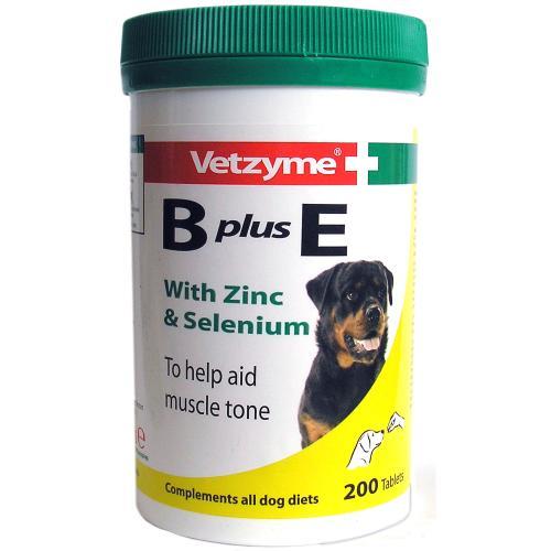 Vetzyme B + E Tablets