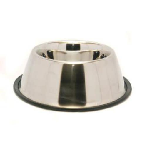 Rosewood Non-Slip Stainless Steel Spaniel Dog Bowl