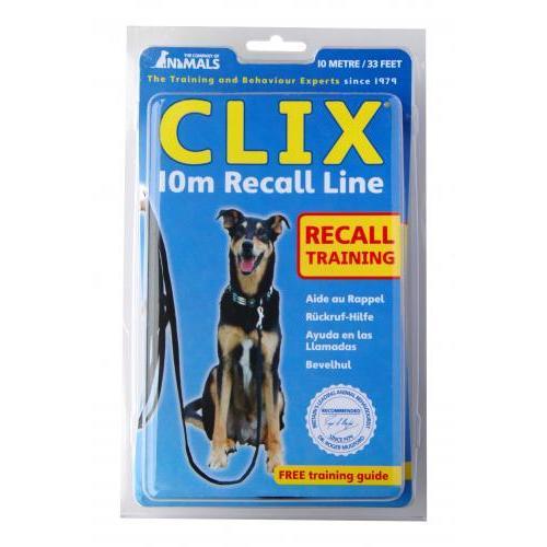 CLIX Training Recall Line Dog Lead