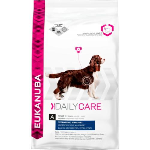 Eukanuba Daily Care Overweight Sterilised Adult Dog Food