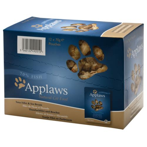 Applaws Tuna & Seabream Pouches Cat Food