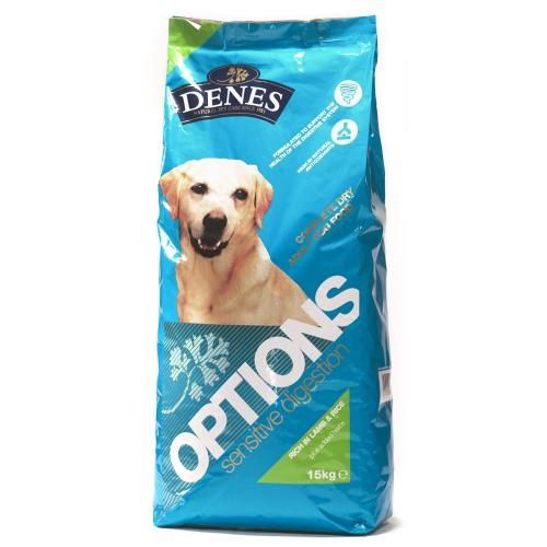 Denes Options Sensitive Digestion Lamb & Rice Dog Food