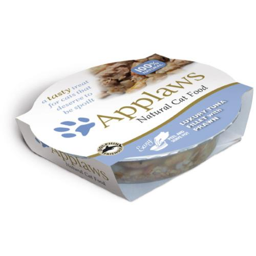 Applaws Tuna Fillet & Prawn Pot Adult Cat Food