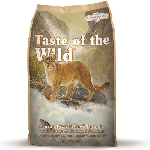 Taste Of The Wild Feline River Feline Trout & Smoked Salmon