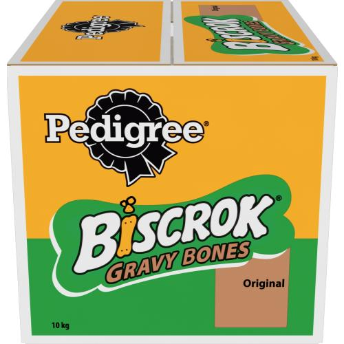 Pedigree Biscrok Gravy Bones With Chicken Dog Treat