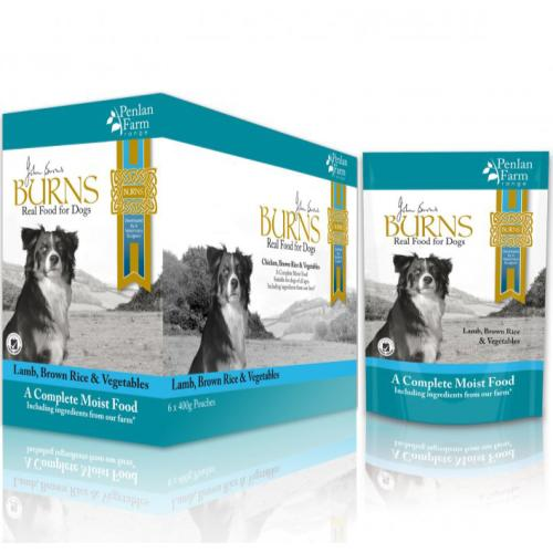 Burns Penlan Farm Lamb Complete Moist Dog Food
