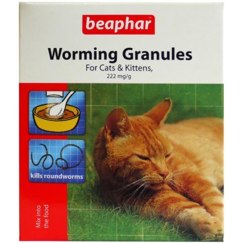 Beaphar Cat Worming Granules 4 Sachets