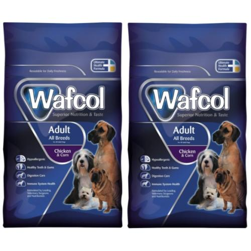 Wafcol Chicken & Corn Adult Dog Food