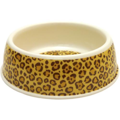 Rosewood Deluxe Melamine Leopard Print Bowl