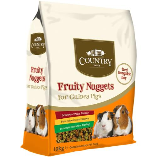 Country Value Fruity Nuggets for Guinea Pigs