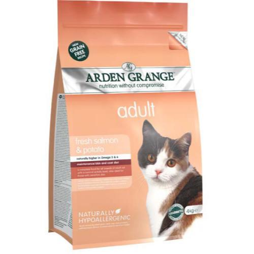 Arden Grange Salmon & Potato Cereal Free Adult Cat Food