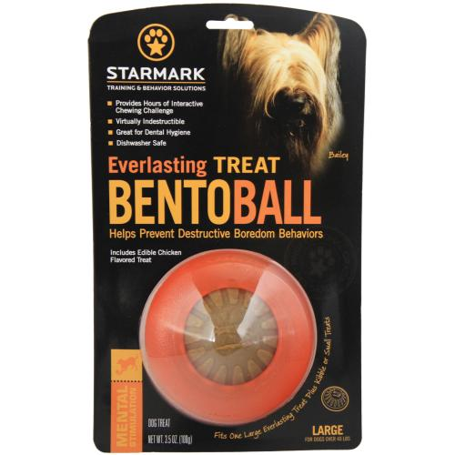 Starmark Everlasting Treat Bento Ball Dog Toy From £1.58