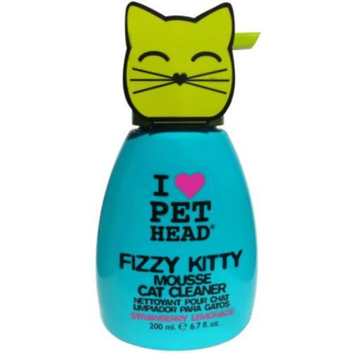 Pet Head Fizzy Kitty Mousse Cat Cleaner Foam Shampoo