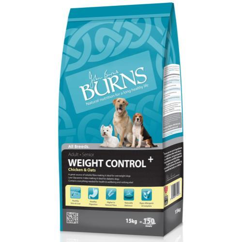 Burns Weight Control + Chicken & Oats Adult & Senior Dog Food