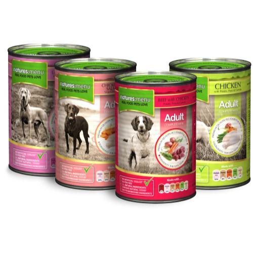 Natures Menu Multipack Adult Dog Food Cans