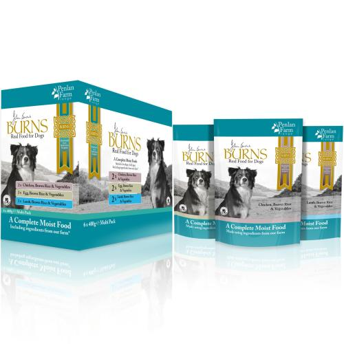 Burns Penlan Farm Multi Pack Complete Moist Dog Food