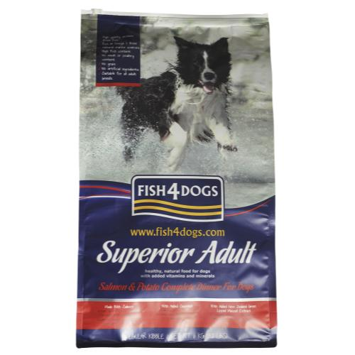 Fish4dogs Superior Salmon Adult Complete Dog Food