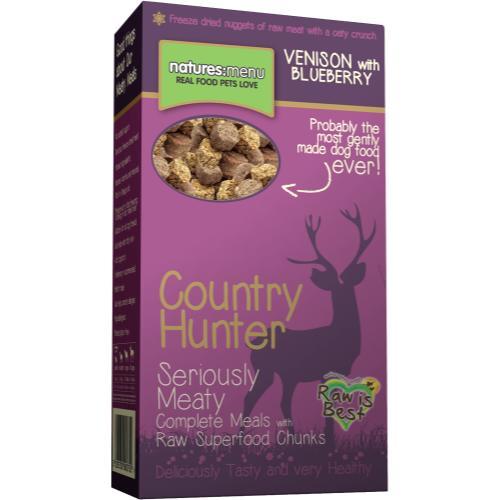Natures Menu Country Hunter Venison & Blueberries Superfood Crunch Adult Dog Food