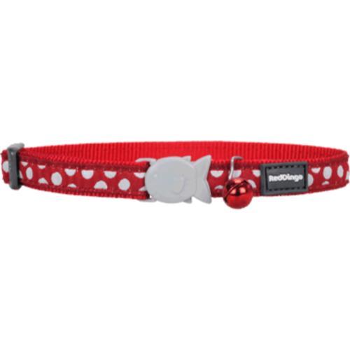 Red Dingo Cat Collar Spots