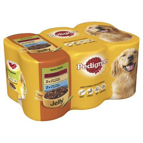 Pedigree Meaty Meals in Jelly Adult Dog Food