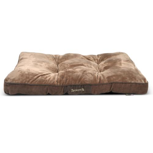 Scruffs Chester Mattress in Chocolate Dog Bed