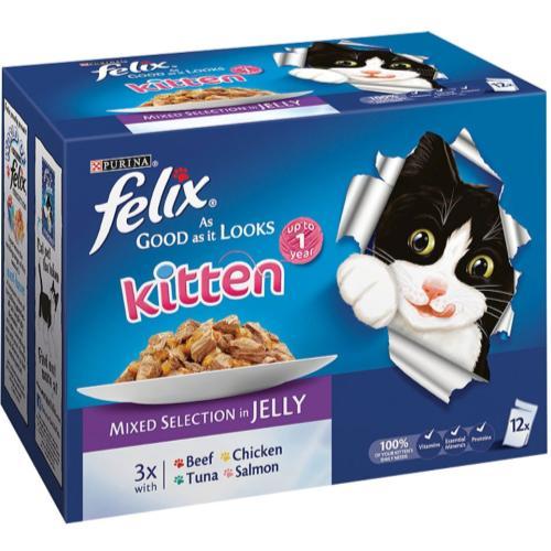 Felix As Good As It Looks Mixed Selection In Jelly Kitten Food