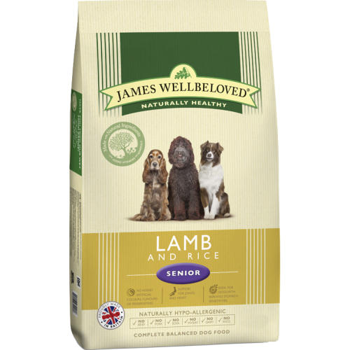 James Wellbeloved Lamb & Rice Senior Dog Food