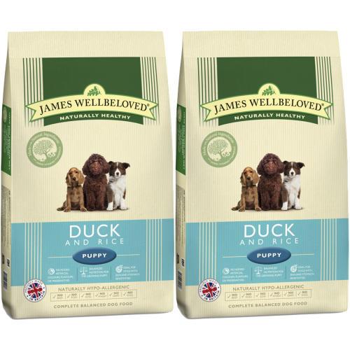James Wellbeloved Duck & Rice Puppy Food