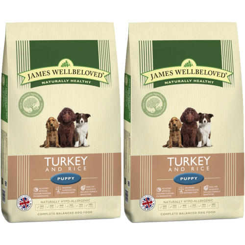 James Wellbeloved Turkey & Rice Puppy Food