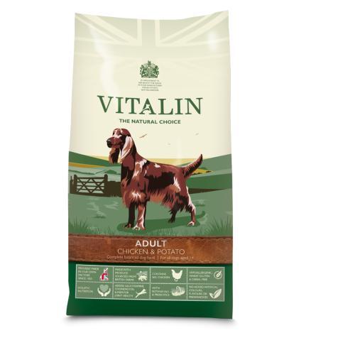 Vitalin Natural Chicken & Potato Adult Dog Food