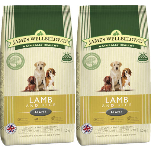 James Wellbeloved Lamb & Rice Light Adult Dog Food