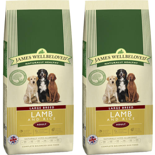James Wellbeloved Lamb & Rice Adult Large Breed Dog Food