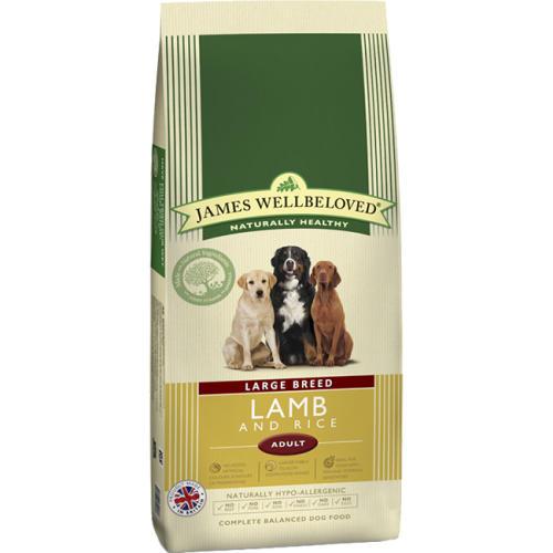 James Wellbeloved Lamb & Rice Adult Large Breed Dog Food