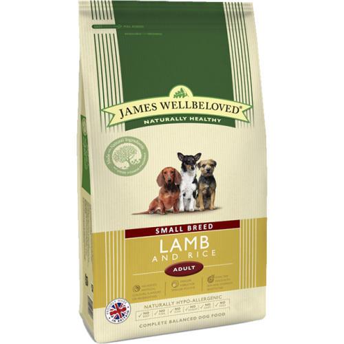 James Wellbeloved Lamb & Rice Adult Small Breed Dog Food