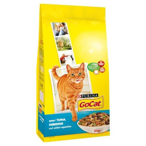 Go-Cat Tuna Herring & Vegetable Dry Adult Cat Food