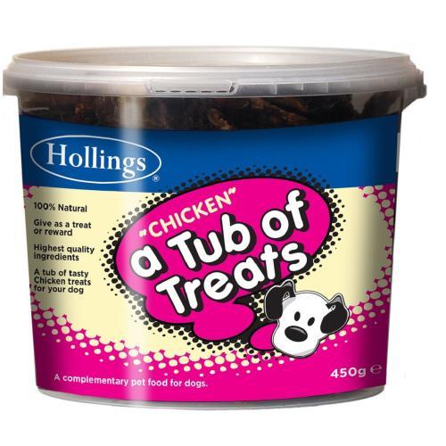 Hollings Tub Chicken Dog Treats
