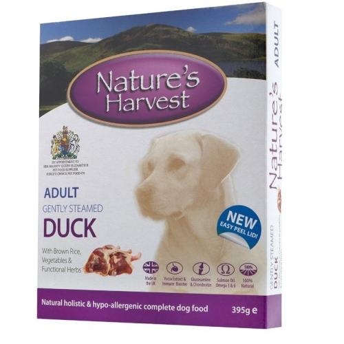 Natures Harvest Duck & Chicken with Brown Rice Wet Adult Dog Food