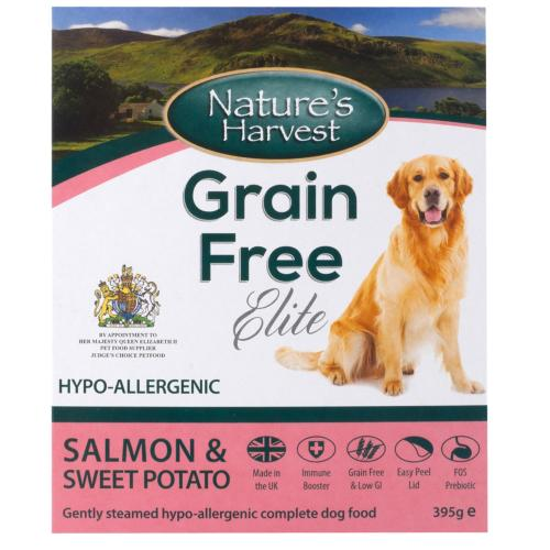 Natures Harvest Grain Free Salmon & Sweet Potato Adult Dog Food