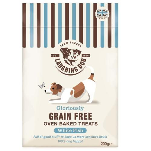 Laughing Dog Grain Free Fish Biscuit Treats