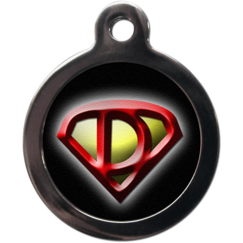 PS Pet Tags Superdog Dog ID Tag