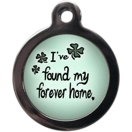 PS Pet Tags My Forever Home Dog ID Tag