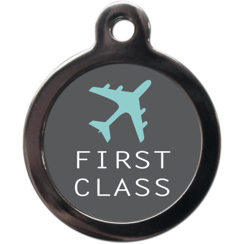 PS Pet Tags First Class Dog ID Tag