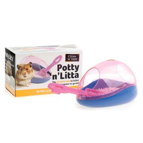 Sharples Pet Clean N Tidy Potty N Litta