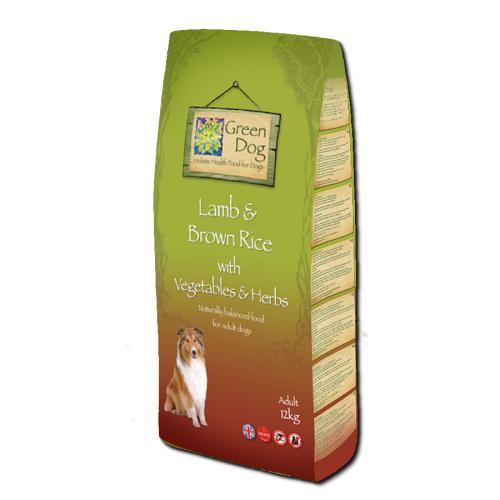 Greendog Lamb & Brown Rice Dry Adult Dog Food