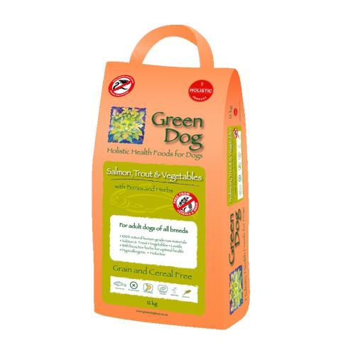 Greendog Trout Salmon & Veg Adult Dog Food
